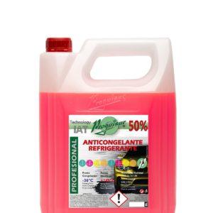 ANTICONGELANTE-REFRIGERANTE ORGÁNICO 50% ROSA G12/G12+ 5L